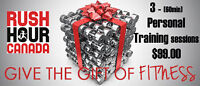 Give the gift of fitness this year!! $24.99 / session !!