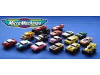 Micro Machines Wanted Kids Toys 1980s 1990s