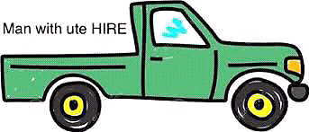Ute driver hire pickup/drop offs $30hr