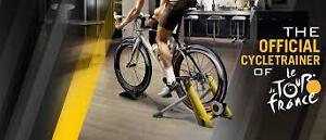 Pro-Form Yellow Jersey Bike Trainer With Mat On Sale In Stock