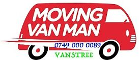 SHORTNOTICE MAN AND VAN REMOVAL & MOVING SERVICE 2 3 men HIRE LUTON VAN WITH TAIL LIFT MOVER COMPANY