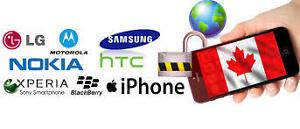 Déverrouillage cellulaire à bas prix