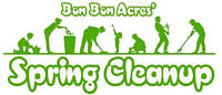 Spring cleanup and garbage removal