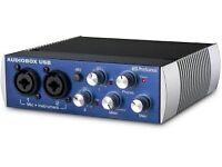 USB audio interface and recording software - Presonus Audiobox