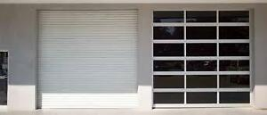 New White Garage 10 x 10 Roll-up Door