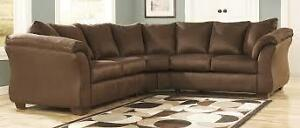 *** USED *** ASHLEY DARCY CAFE SECTIONAL S/N:51209567 #STORE510
