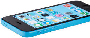 Apple iPhone 5c 16GB Blue w/ charger Bell/MTS