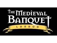 Kitchen Porter - The Medieval Banquet - Tower Hill