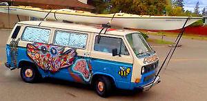 1987 Volkswagen Bus/Vanagon Minivan, Van
