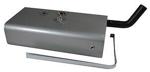 Universal Steel Gas Tank Combo - Tank, Pump & Sender  - 45 Degree Hose - U4-45