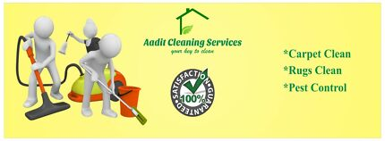 Carpet steam clean, bond clean & pest control  Mango Hill Pine Rivers Area Preview
