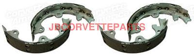 65-82 Corvette Parking Brake Stainless Steel Shoes NEW 4 Piece Set Brake Shoes 4 Piece