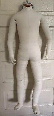 Vintage Badsf Mannequin Articulating Kids Sz 7 Full Body Posable 1999 Cloth 42