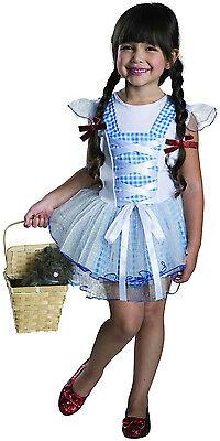 Wizard of Oz Girls Tutu Dorothy Child Costume Size Small 4-6](Tutu Dorothy Costume)