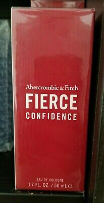 Fierce Confidence by Abercrombie & Fitch 1.7oz 50ml Cologne Spray Men New SEALED