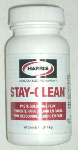 Harris Stay-Clean SCPF4 Soldering Flux Paste 4 oz Bottle 40027