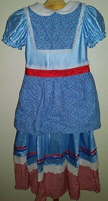 Pioneer Patriotic Colonial Hand Maid Bumpkin Early America Dress Costume Theater