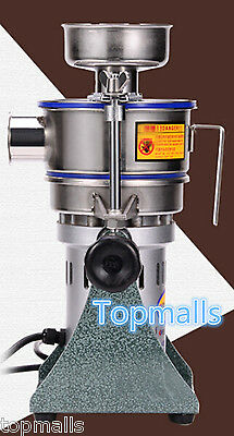 Super Fine Powder Mill Small Electric Grinding Machine Chinese Medicine Grinder