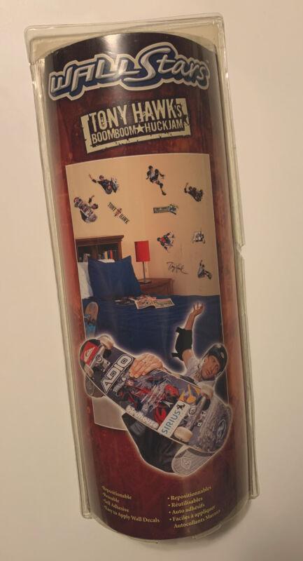Wall Stars Tony Hawk 10 Decals Stickers Upper Deck Skateboard Skateboarding