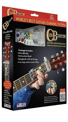 """Chord Buddy """"Worlds Best Guitar Learning System"""""""