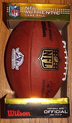 Nib Vikings Us Bank Stadium Inaugural Authentic Nfl Game Ball The Duke Wilson