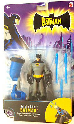 The Batman Triple Shot 2005 Figure DC MATTEL ANIMATED Series Imported Edi DC -