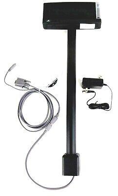 Bematech Ldx9000up-gy Pole Display 2x20 Line Usb Port Powered Dark Gray