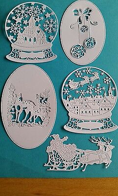 15 TATTERED LACE MEMORY BOX AND OTHERS CHRISTMAS DIE CUTS