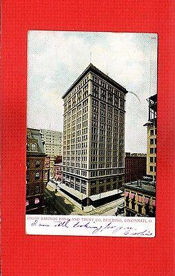 Cincinnati Oh Ohio  Union Savings Bank And Trust Co  Building