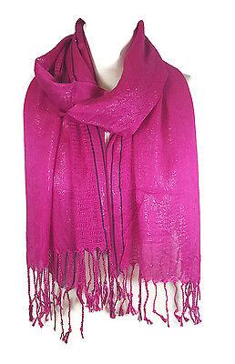 en Net Stola Schal Bedecken - Hot Pink (PRTY) (Hot Pink Schal)