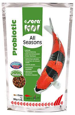 2er Pack sera Koi All Seasons Probiotic, 2 x 500 g