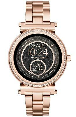 Michael Kors Access Women's Sofie Rose Gold Touchscreen Smart Watch MKT5022J