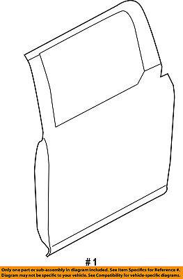 Used, FORD OEM 15-18 F-150 Rear Door-Shell Frame Panel Left FL3Z1624631B for sale  Mesa