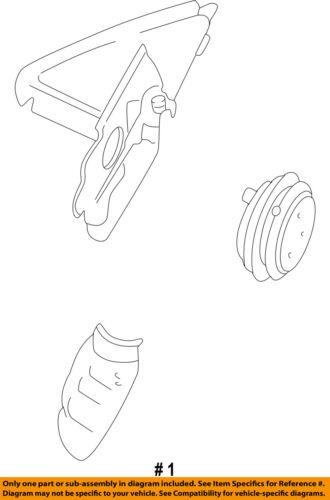 Audi Oem A8 Quattro Door Side Rear View Mirror Repair Kit Right