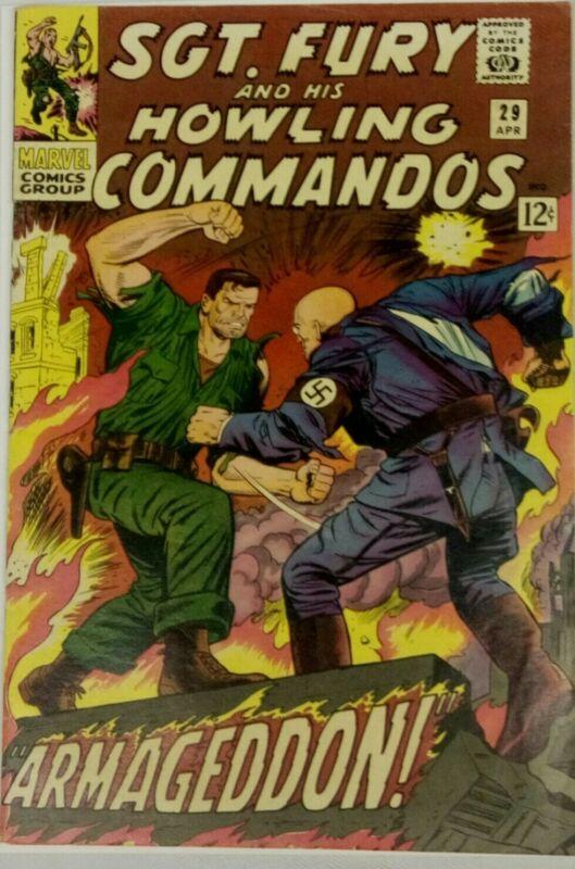 Marvels Sgt Fury #29