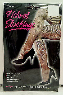 Neon Pink Hot Pink Women's Teens Footed Fishnet Stocking Tights One Size - Hot Teen Tights