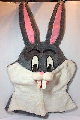 Rabbit Mascot Head (Bugs Bunny Rabbit Mascot Head Plush Costume Cartoon Character Adult)