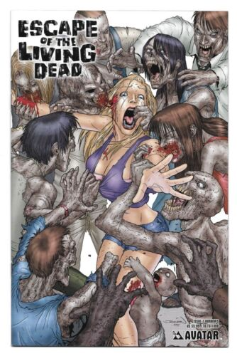 Escape Of The Living Dead #1 Burrows (2005) LTD to 1000 copies nm cond / st13