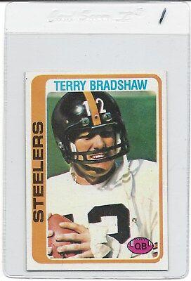 Sweet Terry (1978 TOPPS #65 TERRY BRADSHAW STEELERS HOF PACK FRESH RAZOR SHARP FREE)