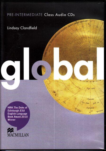 Macmillan GLOBAL Pre-Intermediate Class Audio CDs / Lindsay Clandfield @NEW@