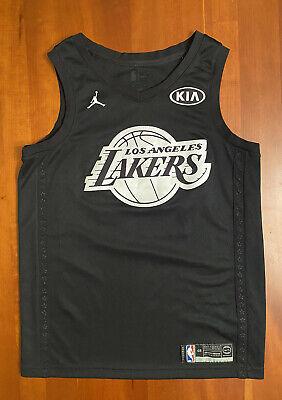 Nike Jordan Kobe Bryant All-Star Edition Swingman Size Large NBA Black Jersey 48