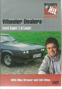 WHEELER DEALERS FORD CAPRI 1.6 LASER DVD WITH MIKE BREWER AND EDD CHINA