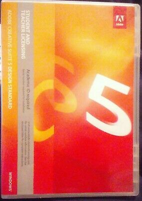 Adobe Creative Suite 5 Design Standard MAC Student&Teacher FULL VERSION(3 Disc)