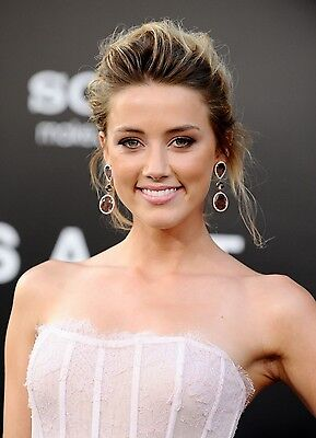 Amber Heard 8X10 Glossy Photo Picture Image  3