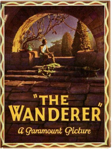 Vintage Movie 1925 Original Herald THE WANDERER, Tyrone Power