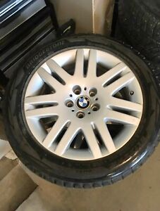 BMW X3 set of four Winter Tires & Rims $750