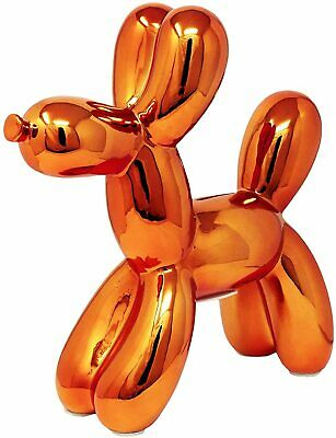 "Interior Illusions Plus Rose Gold Balloon Dog Bank - 12"" inch tall Small flaw"