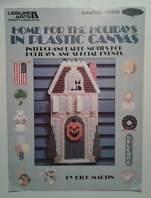Home for the Holidays ~Easter Halloween Christmas Wall Hanging & Holiday Motifs  - Home For Halloween