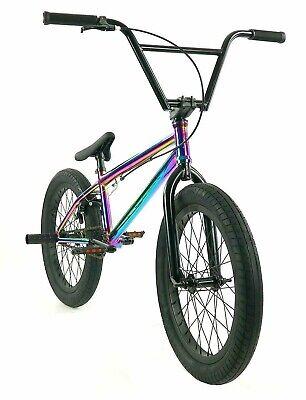 "Elite BMX 20"" Bike Destro Freestyle Oil Slick Neo NEW 2020 3-Piece Cr-Mo Crank"