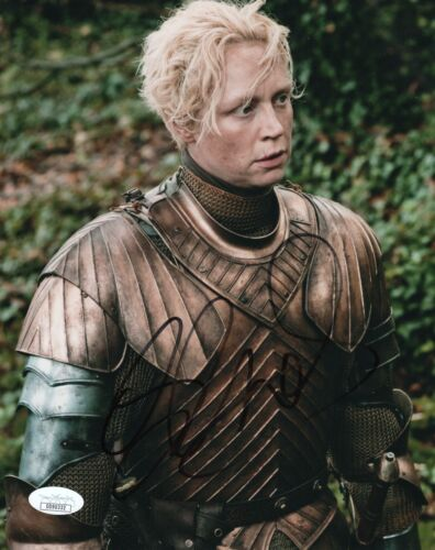 Gwendoline Christie Game of Thrones Autographed Signed 8x10 Photo JSA COA #3